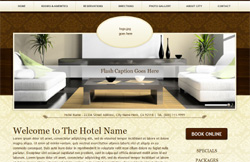 Boutique Styled Template Websites Lodging Industry $499 Complete * Affordable Website Design Hotel Industry Myeres.com