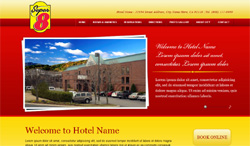 Branded Template Websites Hotel Industry $499 Complete * Best Western Super 8 Days Inn Rodeway Sleep Inn Econo Lodge